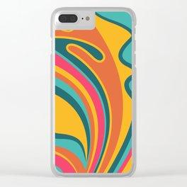 Feeling Fabulous Clear iPhone Case