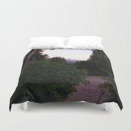 Patagonian Sunset Duvet Cover
