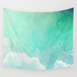Cloud sky pattern Wall Tapestry