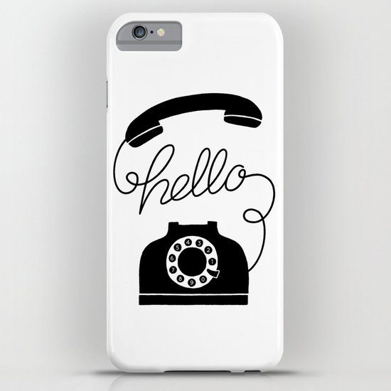 Hello Phone Iphone Case By Hellopapercostore