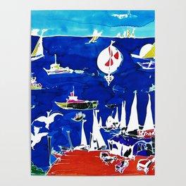 The Marina, Southport, Qld. AUSTRALIA Poster