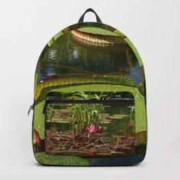 Waterlily Leaf Platters Backpack