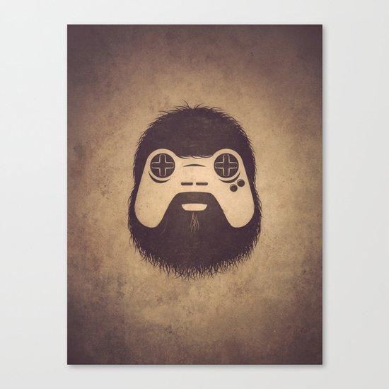 The Gamer Canvas Print