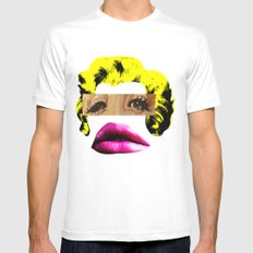 Marilyn Mens Fitted Tee White MEDIUM