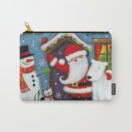 Santa's House Carry-All Pouch
