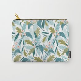 Soft Folk Florals Carry-All Pouch
