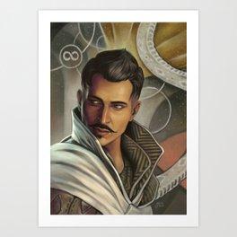 Dorian Pavus Art Print