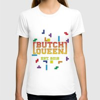 tetris T-shirts featuring BQ - Tetris by lessdanthree