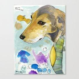 Wesley Seahorse Canvas Print
