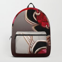 The Knightly rose brooch Backpack