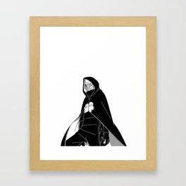 DOOM Uchiha Framed Art Print