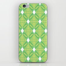 Abstract [GREEN] Emeralds iPhone & iPod Skin