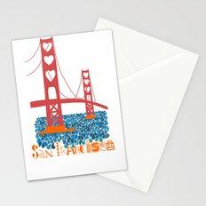 I Heart San Francisco Stationery Cards