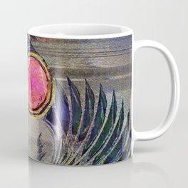 Egyptian Scarab Beetle Abstract on canvas Coffee Mug
