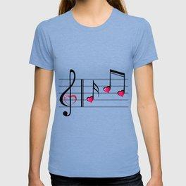 Music love concept T-shirt