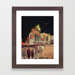 Software Road Framed Art Print
