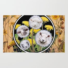 Dandelion Sheep II Rug