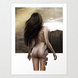 Nude Inside Art Print
