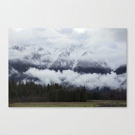Pemberton glacier Canvas Print