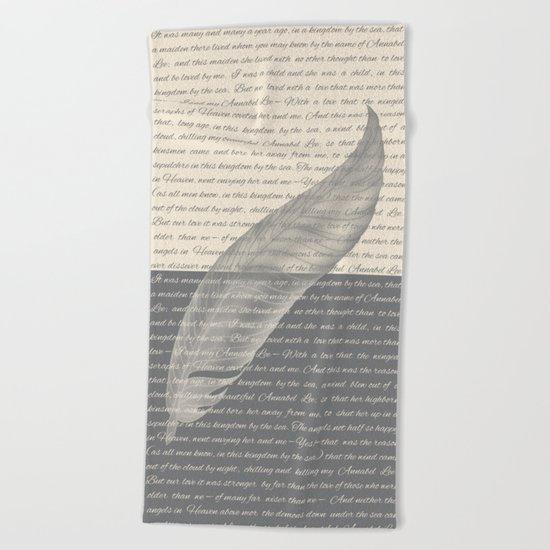 ANNABEL LEE Beach Towel