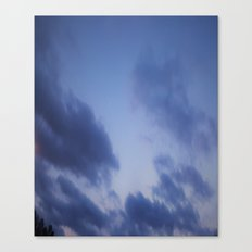 Rouge Sky Canvas Print