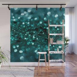 Sparkling OCEAN Glitter #1 #shiny #decor #art #society6 Wall Mural
