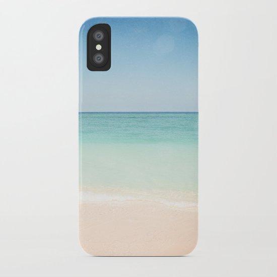 Seven Mile Beach iPhone Case