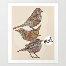 Oisch! Art Print