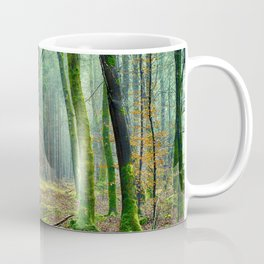 Mossy Forest Landscape Coffee Mug