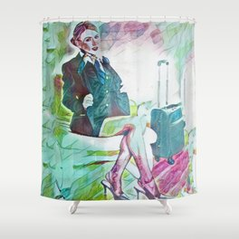 Grounded Shower Curtain