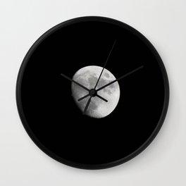 Waxing Gibbous Wall Clock