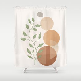 Abstract Rock Geometry 19 Shower Curtain