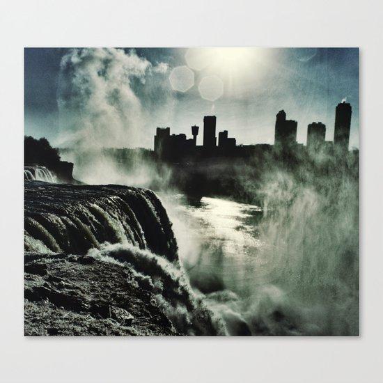 Misty Mist  Canvas Print