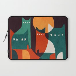 Cat Family Laptop Sleeve