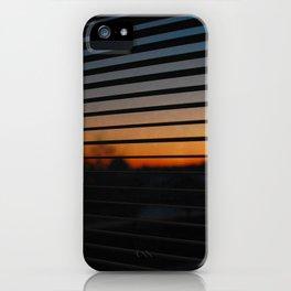 Sunset Patterns iPhone Case