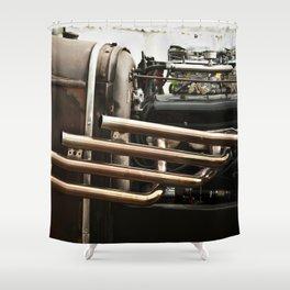 Hotrod 1  Shower Curtain