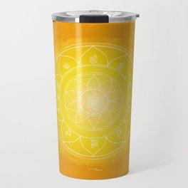 MANIPURA Boho mandala Travel Mug