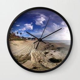 Crystal Cove Beach 360 Wall Clock