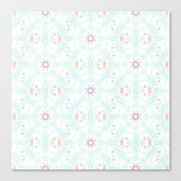 doodle Canvas Prints featuring Doodle by Truly Juel