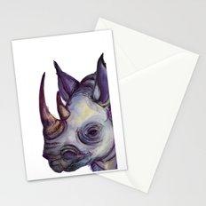 Rhino Blues Stationery Cards