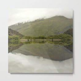 Reflections from Diamond Lake Metal Print