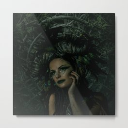 The Green Fairy Metal Print