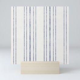 AEGEAN MULTI STRIPE Mini Art Print
