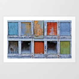 Farmington Garage Door Art Print