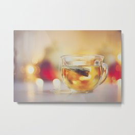 . tea . Metal Print