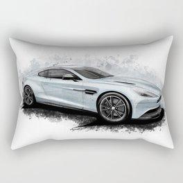 Aston Martin Vanquish Rectangular Pillow