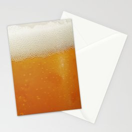Beer Bubbles Stationery Cards