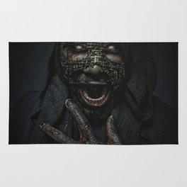 Boogie Horror: Mirror Mask Rug
