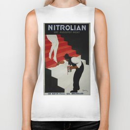 Vintage poster - Nirolilan Biker Tank
