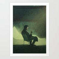breaking bad Art Prints featuring Breaking Bad by yurishwedoff